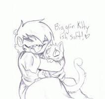 Kitty Snuggles by BlackFire64