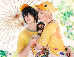 Prompto and Noctis IV by NatheaX