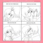 LSK: Innocent kiss by sakuyasworld