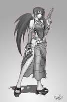 Riske sketch by sakuyasworld