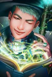 [BTS] Wizard RapMon by sakuyasworld