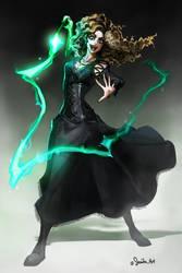 Bellatrix Lestrange by sakuyasworld