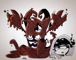 Inktober InkFernal #23: Muddy by SorprenDante