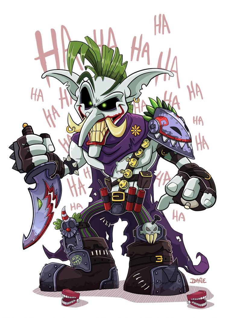 Troll Joker by SorprenDante