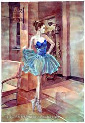 Bailarina by huntybounter