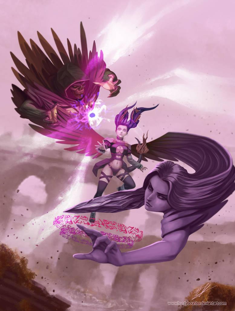 Awe of she - MK2 by huntybounter
