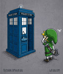 The Ocarina of Time Travel by WirdouDesigns