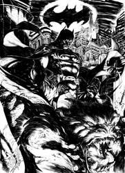 Batman Commission by DEVMALYA