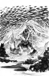 Conan the barbarian by DEVMALYA