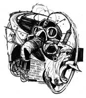 .gas mask. by Mastaofdapit