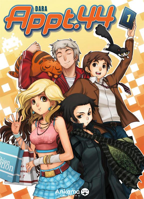 Appt.44 - Manga cover by darax