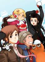 Appt.44 - Manga cover - 2 by darax