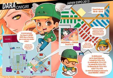 Plan Japan Expo 2013 by darax