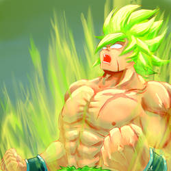 Dragon Ball Super - Broly by LukasIrzl