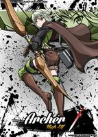 High Elf Archer by Shinoharaa