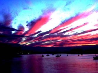 The Perfect Sunset by WishIWasAsHotAsBram