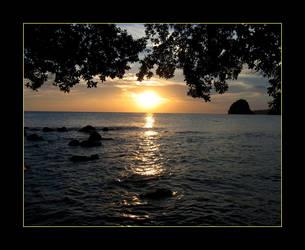 Caribbean Sunset by vita-luna