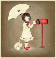 .: In The Rain :. by seeba