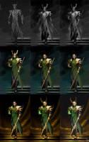 WIP process for Loki by Sinto-risky