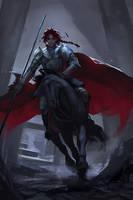 Sketch: Fair knight by Sinto-risky