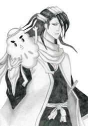 Byakuya and Wakame Taishi by Ashcat-desu