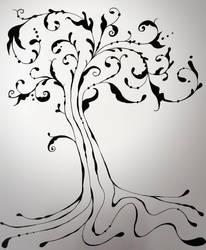 Flourished Tree by noblewebs