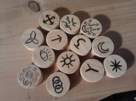 Witches Runes 1 by Sekem-Miw