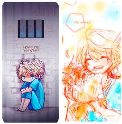 AZ Slaine bookmark by jinyjin