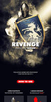Revenge Photoshop Brushes and ction by PowerPGGirl