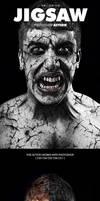 Jigsaw Halloween Photoshop Action by PowerPGGirl