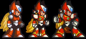 Zero sprites x1 x2 x3 (Megaman X IOS Style) by DiegoGamer1820