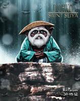 DOHKO - SAINT SEIYA ILLUSTRATION by alemarques21