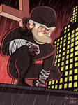 DareDevil - Caricature by alemarques21