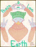 Peace and Love on Earth ver 1 by Aire-Draws