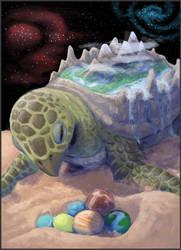 On the sands by nepryne