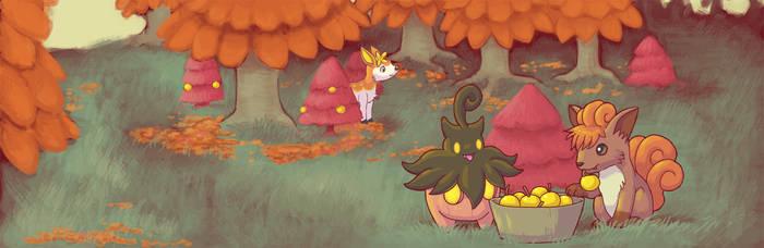 The Autumn Harvest by nepryne