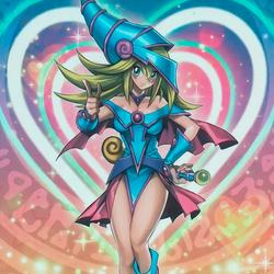 Dark Magician Girl (The Dark side of Dimensions) by Yugi-Master