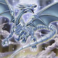 Blue-Eyes White Dragon (The Dark side of Dimension by Yugi-Master