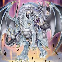 Azure-Eyes Silver Dragon by Yugi-Master