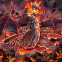 Dogoran the Mad Flame Kaiju by Yugi-Master