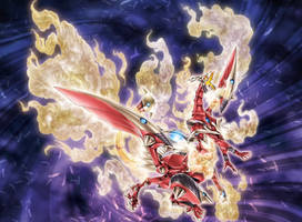 Nephthys the Blazing Sacred Phoenix FULL ARTWORK by Yugi-Master