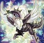 White Rose Dragon by Yugi-Master