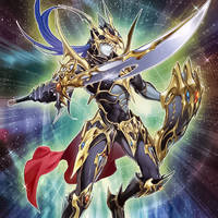 Black Luster Soldier the Chaos Warrior by Yugi-Master