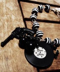 Stripe+PistolAnchor Bracelet1 by Tattooed-Gumball