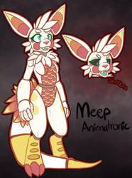 FNAF Animatronic Meep by MystikMeep