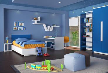 Children room render 1 by qanhtrinh88