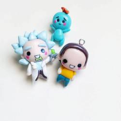 Rick and morty charms ! by Thekawaiiod