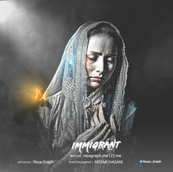 hazara - IMMIGRANT by rezagraph133