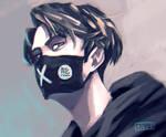 Kaomoji Hentai Mask by Shyua