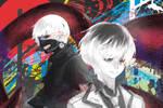 Sasaki and Kaneki by Shyua